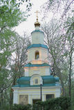 Chapel of the Holy virgin Ulyanovsk Simbirsk diocese stock photography