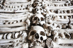 Chapel of human bones of Campo Maior, Portugal Royalty Free Stock Photo