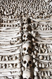 Chapel of human bones of Campo Maior, Portugal Stock Photography