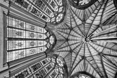 The chapel inside Westminster Abbey, London Stock Image