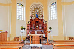 Chapel Interior Royalty Free Stock Image