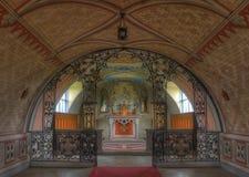 Chapel interior Stock Image