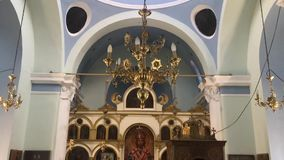 Chapel Interior View stock video