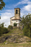 Chapel on the island of Monte Isola Royalty Free Stock Photography