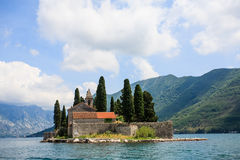 Chapel on the island Royalty Free Stock Images