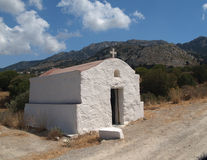 Chapel in isle Kos Royalty Free Stock Images