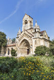 The Chapel of Jak gothic church. Vajdahunyad Castle, Budapest. Royalty Free Stock Photography