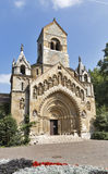 The Chapel of Jak gothic church. Vajdahunyad Castle, Budapest. Stock Images