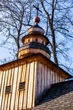 Chapel in Jaszczurowka in Zakopane, Poland. Royalty Free Stock Photography