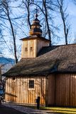 Chapel in Jaszczurowka in Zakopane, Poland. Stock Image