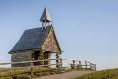 Chapel at the Kampenwand Royalty Free Stock Image