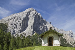 Chapel in Karwendel Royalty Free Stock Images