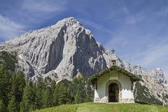 Chapel in Karwendel Royalty Free Stock Images