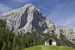 Chapel in Karwendel Stock Photography