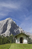 Chapel in Karwendel Stock Photo