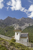 Chapel  in Karwendel mountains Royalty Free Stock Photos