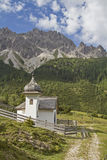 Chapel  in Karwendel mountains Stock Photography