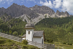 Chapel  in Karwendel mountains Royalty Free Stock Images