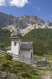 Chapel  in Karwendel mountains Royalty Free Stock Photo