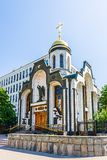 Chapel of the Kazan Icon Stock Photography