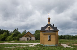 Chapel by Lake Peipus, Estonia Royalty Free Stock Image
