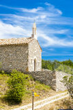Chapel in Le Ventouret Stock Photo