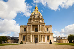 Chapel of Les Invalides, Paris royalty free stock images