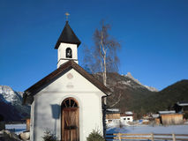 Chapel, Leutasch - Austria Royalty Free Stock Photography