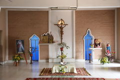 Chapel in Little Flower Convent in Basanti, West Bengal, India Stock Photo