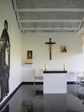 Chapel at the Lublin airport, Poland Stock Photography