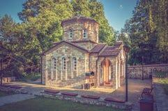 Chapel in Macedonia near Ohrid lake Stock Images