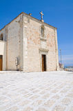 Chapel of the Madonna dell'Altomare. Otranto. Royalty Free Stock Photography