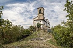 Chapel of the Madonna della Ceriola Stock Images