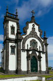 Chapel of Mae de Deus. The Chapel of Mae de Deus, mother of god church on a hill in Ponta Delgada, Sao Miguel, the Azores Stock Image