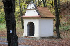 Chapel, Marianka monastery - the oldest pilgrimage site, Slovakia Stock Images