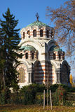 The Chapel-mausoleum, Pleven, Bulgaria. The Chapel-mausoleum St. George the Victorious, Pleven, Bulgaria. In memory of the perished Russian and Romanian warriors Royalty Free Stock Photos