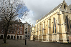 Chapel, Middle Temple, Inns of Court. London royalty free stock image