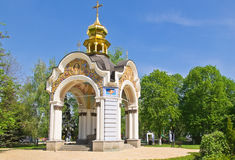 Chapel in Mikhailovsky Cathedral Royalty Free Stock Photo