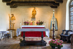 Chapel at Mission Espada Stock Photos