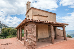 Chapel in Montserrat Stock Photo