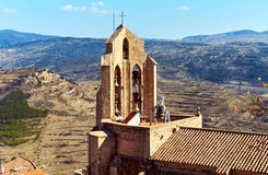 Chapel of Morella. Spain Royalty Free Stock Images