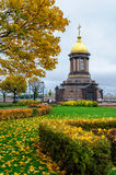 Chapel of the Most Holy Trinity in Petersburg, Russia Stock Photos