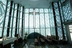 Chapel in Mother Teresa Memorial House in Skopje Royalty Free Stock Photo