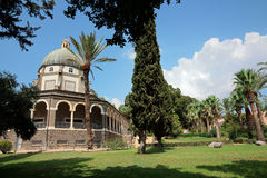 Chapel on Mount of Beatitudes Royalty Free Stock Images