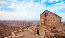 Chapel on mount sinai Stock Photography