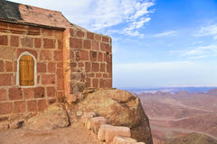Chapel on mount sinai Stock Images