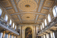 Chapel of Navel College in London Stock Photos