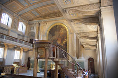 Chapel of Navel College in London Stock Photo