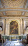 Chapel of Navel College in London Stock Images