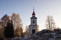 Chapel. Near the Earth gate, Czech republic Stock Photography